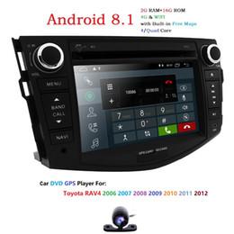 $enCountryForm.capitalKeyWord Australia - Android 8.1 2din Car DVD Player For Toyota RAV4 2006 2007 2008 2009 2010 2012 Radio Stereo GPS Quad Core Unite 2GB RAM Cam