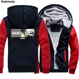 $enCountryForm.capitalKeyWord Australia - Anime Kakashi Cosplay Naruto Clothes winter Plus Velvet thickening Hooded sweatshirt Coat Jackets Keep warm hoodies Casual Tops