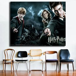 Phoenix Paintings Australia - Harry Potter And The Order Of The Phoenix Movie Canvas Poster Art Painting Universe Wall Picture Print Living Room Bedroom Home Decoration