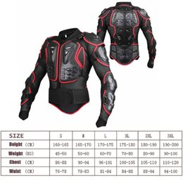 $enCountryForm.capitalKeyWord Australia - 2019 New Motocross Protector Motorcycle Off-Road Full Body Armor Jacket Protective Gear Arm Clothing Drop Spine Chest Protect