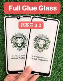 Cheap Tempered Glass Screen Protector Australia - Cheap Price 5D 6D 9D 10D 20D Full Glue Tempered Glass For Nokia 3.2 Screen Protector 3.1 Plus 5.1 6.1 7.1 8.1 Clear 9H Anti Scratch Film