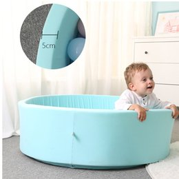 $enCountryForm.capitalKeyWord Australia - Baby Fencing Manege Round Play Ball Dry Pool Pit for Play Ocean Ball Funny Playground For Toddler Kids Game Tent Birthday Gift