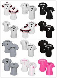 fafe2519b 2018 top Chicago White Sox Jerseys  7 Tim Anderson Jerseys men WOMEN YOUTH Men s  Baseball Jersey Majestic Stitched Professional sportswear