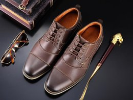 $enCountryForm.capitalKeyWord Australia - Genuine cow Leather Men formal shoes gents classic designer leather elegant luxury men oxford shoes 1h31