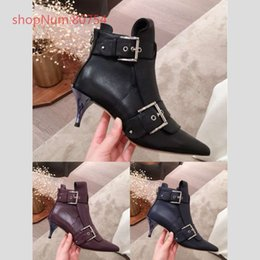 $enCountryForm.capitalKeyWord Australia - Hot Sale in 2019 Womens Boots Luxury Real Leather Martin Boots Stiletto Boots Fashion Designer Top with Box Women Boot Designer Shoes 35-39