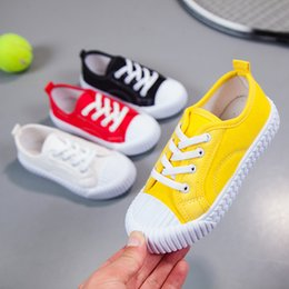 $enCountryForm.capitalKeyWord NZ - Boys Girls Low Top Sneakers Ankle Flat Lace-up Sport Shoes Walking Running Casual Fashion Sneakers Champion Original Canvas Sneaker