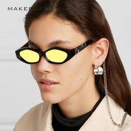 66d3642734 2019 Fashion Ladies Small Frame Sunglasses Brand Designer Polarized Sun Glasses  Shade for women Trendy Polygon UV400 oval