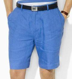White Shorts Australia - Deluxe 2019 Summer Men Solid Polo Shorts Male Pony Cotton High Quality Swimwear Sport Trunks Classic Short Pants Size S-XXL White Black Blue