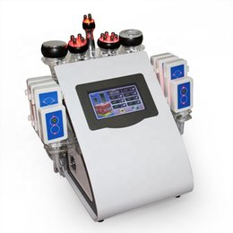 multi function meters Australia - 6 IN 1 fat meter multi-function cavitation fat burning machine negative pressure radio frequency beauty equipment