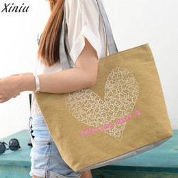 Cute Canvas Handbags Australia - Cheap FashionFashion handbag women lady girl Cute Printing Women Canvas Bags Shoulder Bag Casual Handbag Bolsas Feminina Sac A Main #5