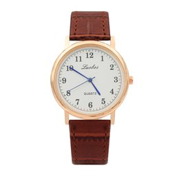 Wholesale Female Wrist Watches Australia - Simple Women Watch 2019 New Fashion Quartz Watches Leather Band Casual Style Dial Wrist Watch Female Dress Girls Student Clock