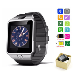 $enCountryForm.capitalKeyWord Australia - Smart watch clock with SIM card slot push message Bluetooth connection Android phone better than DZ09 smart watch