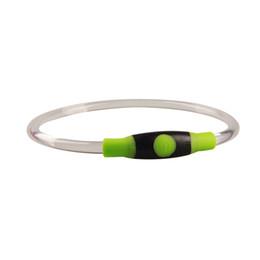 $enCountryForm.capitalKeyWord UK - Brand New Luminous LED Pet Collar Safety LED Dog Collar USB Rechargeable LED Safety Necklace Pet Dog Collar