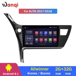 Discount stereo navigation car toyota corolla - 2G RAM 32G ROM 10.1inch Android 8.1 Car GPS for Toyota corolla 2017-2018 Altis Navigation Stereo Audio Radio System