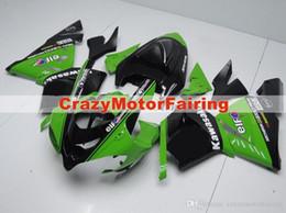 $enCountryForm.capitalKeyWord Australia - 3 Free gifts New ABS bike Fairing Kits 100% Fitment For Kawasaki Ninja ZX10R 2004 2005 10R 04 05 Bodywork set buy green black