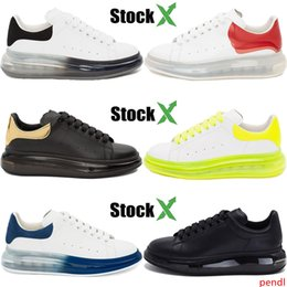 red velvet cushions Australia - Fashion Luxury genuine leather Crystal Sole mens designer shoes triple black white volt red men women velvet cushion sole casual sneakers