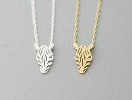 $enCountryForm.capitalKeyWord Australia - Newest Listing Jewelry Necklace ,Delicate Pretty Zebra Horse Pendant Necklace,Cute Animal Jewelry--30pcs lot