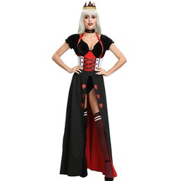 $enCountryForm.capitalKeyWord Australia - M-XL new queen of the palace queen cos Halloween Costume after the middle age Princess Dress Ball