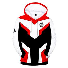 $enCountryForm.capitalKeyWord UK - Avengers Endgame 4 Quantum Realm 3D Print Hoodies Men Fitness Pullover Sweatshirts Zipper Jacket Cosplay Costume Hip Hop Streetwear