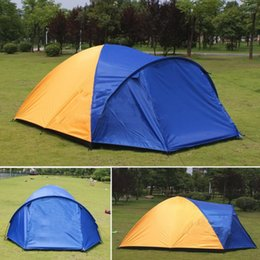 $enCountryForm.capitalKeyWord NZ - 3-4 Person Big Outdoor Tent Separated Double Layer Waterproof Tent for Camping Hiking Fishing Hunting (80+240)*210*140cm 2.5Kg