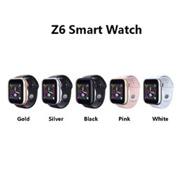 Bluetooth Smart Watch Sim Australia - Z6 Smartwatch For Apple Iphone Smart Watch Bluetooth 3.0 Watches With Camera Supports SIM TF Card For Android Smart Phone