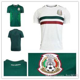 4addcfd5d14 Mexico Green Soccer Jersey Australia - 2018 World Cup Mexico Soccer Jerseys  H. LOZANO G
