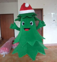 Wholesale holiday mascot costumes for sale – halloween 2020 new High quality light and easy to wear adult plush christmas lovely tree mascot costume for adult to wear holiday
