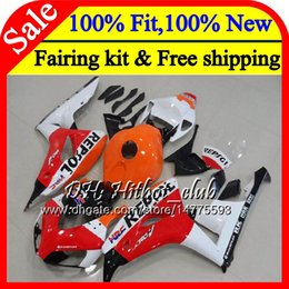 black repsol fairings Australia - OEM Injection For HONDA CBR1000 RR CBR 1000RR 06 07 Repsol red Kit 52HT6 CBR 1000 RR 2006 2007 CBR1000RR 06 07 100%Fit Fairing Bodywork