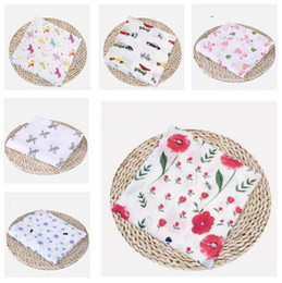 Muslin blankets online shopping - Baby Blankets Cotton Flamingo Rose Fruits Print Muslin Baby Blankets Bedding Infant Swaddle Wrap Towel For Boys Girls Swaddle Blanket Gifts