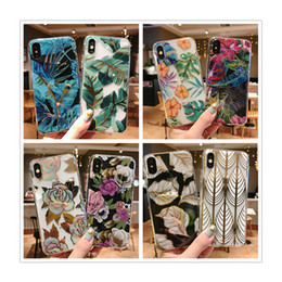 girly iphone cases Australia - Luxury Designer phone case TPU electroplate transparent cover for iPhone xs max for iPhone 6 plus cover for Girly mobile phone case