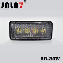 Flood light housing online shopping - LED Headlight fits into orginal housing Plug Play JOHN DEERE light R161288 RE37450 Rectangular W leds Flood beam white lights