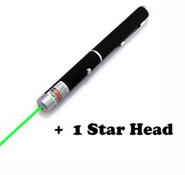 Lazer Pen Pointers Australia - Green Laser Pen Meeting Supplies Outdoor Distress Supplies Powerful Laser Pointer Presenter Remote Lazer Hunting Laser With Star Head