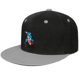 $enCountryForm.capitalKeyWord Australia - Flat Captain America Wall decal Sticker All Cotton Curved Messy cap