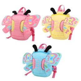 $enCountryForm.capitalKeyWord NZ - Fashion Cute Baby Kids Toddler Walking Safety Harness Strap Anti-lost Leash Cartoon Butterfly Backpack Shoulder Bag Rucksack New