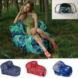 Red Living Room Furniture Australia - Lounge Sleep Bag Lazy Inflatable Beanbag Sofa Chair, Living Room Bean Bag Cushion, Outdoor Self Inflated Beanbag Furniture