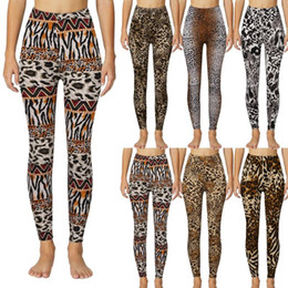 Wholesale ethnic pants woman resale online – Ethnic Style Women Yoga Pant High wasit Strethcy Fitness Leggings Tight Sports wear Seamless Yoga Pants Training Running Pants