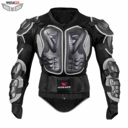 $enCountryForm.capitalKeyWord Australia - WOSAWE Motorcycles Jackets Motocross OFF Road Jacket MOTO Protective Gear Back Support Body Armor Clothing Elbow Pad