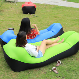 $enCountryForm.capitalKeyWord NZ - Camping Mat Lazy Bag Lounger Outdoor Camping Lazy Sofa Beach Picnic Mat Inflatable Sofa Bed Beanbag Air Lounge Chair Pad