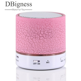 mini music box mp3 player 2019 - Dbigness Bluetooth Speaker Portable Mini Wireless Altavoz USB Speaker Music Sound Box Subwoofer with Mic Caixa De Som TF