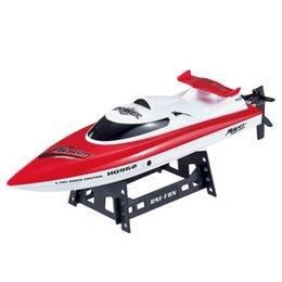 metal coolers UK - 28km h High Speed Racing Boat Ship with Water Cooling System 150meters Operation Distance Remote Control Boat