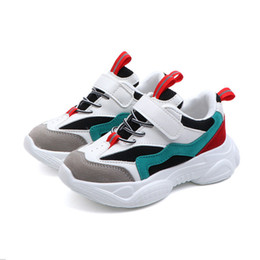 $enCountryForm.capitalKeyWord Australia - 2019 New Spring Kids Shoes Mesh Color Matching Children's Tennis Breathable Sport Shoes Fashion Footwear Girls Boys Sneakers Y190525