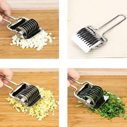 Press Cutter Australia - tools kitchen Lemonbest Stainless Steel Noodle Cut Pressing Machine Shallot Onion Garlic Coriander Cutter Cooking Tool Kitchen Gadget