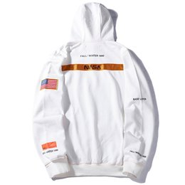 $enCountryForm.capitalKeyWord Australia - Heron Preston X NASA Hoodie Letter Embroidered Mens Long Sleeve Sweatshirt 5 Colors Fashion Street Hoody Couple Clothes