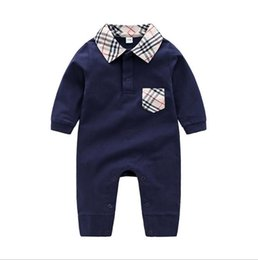 Autumn Cotton Australia - 2020 New Children pajamas baby rompers newborn baby clothes long sleeve underwear cotton costume boys girls autumn rompers