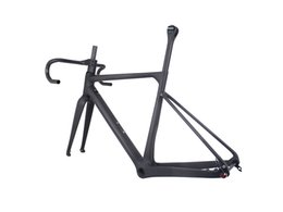 China road biCyCles online shopping - 2019 china factory new design Toray Full Carbon Fiber Gravel Bike Frame GR039 Bicycle GRAVEL frame factory deirect sale