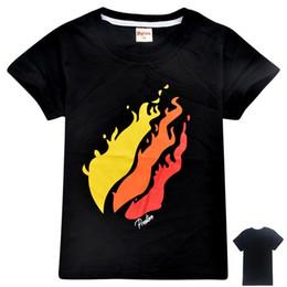 Girl Style Game Australia - Short sleeve Tshirt Cotton 2019 Spring Sweatshirt for Boys Girls Round collar T-shirt Hot Game Top Tees Kids Clothing B11