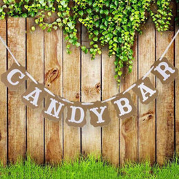 $enCountryForm.capitalKeyWord Australia - Photo Booth Props Supplies Vintage Photography Baby Shower Cardboard Candy Bar Kraft Paper Bunting Banner Garland Wedding Decor Sign