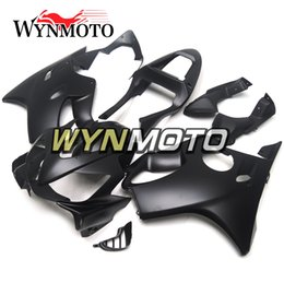 Motor Bicycles Australia - Matte Black Motorcycle Body Frames for Honda CBR600F4i 2001 2002 2003 01 02 03 ABS Plastic Injection Covers Motor Bicycle F4i 01 03 Cowlings