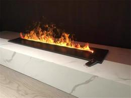 Опт 1000 мм L автоматического заполнения воды дренажный многофункциональный электрический пламени Сид цвета водяной пар паровой электрический камин для дома