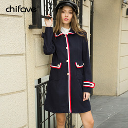 Wholesale longer coats for sale - Group buy Women Coat And Jacket Single Breasted Lady Office Work Blazer Fashion Long Outerwear Autumn Winter Female Slim Coat chifave
